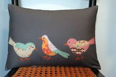 Really like these birds, they aren't 'fat' :)  Nice job Maureen Cracknell