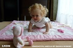 CUSTOM REBORN TODDLER Amelia By Donna Rubert 6 month