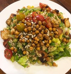Fattoush Salad with Crispy Chickpeas Plated Reviews, Crispy Chickpeas, Vegetarian Dish, Meal Delivery Service, Mountain Dew, Kung Pao Chicken, Chana Masala, Toddlers, Spicy