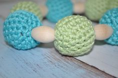 Nursing/Teething Necklace and Teething Ring by BellaHenryBoutique, $21.00