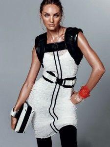 CANDICE SWANEPOEL : URBAN SPORTS    Photographer : Daniel Jackson  Stylist : Alastair McKimm  Hair : Yannick D'is  Make Up : Yadim  Magazine : Vogue China  Issue : February 2012