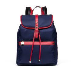 BOSTANTEN Water Resistant Nylon Backpack Purse Rucksack School Bag for Women
