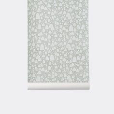 Mountain Tops Kid's Wallpaper design by Ferm Living
