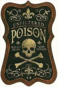 Poison sign.