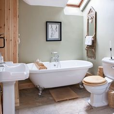 Rustic country bathroom   Bathroom   Makeover   PHOTO GALLERY   Ideal Home   Housetohome.co.uk