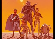 The Star Wars Graphic Novel Has A Promo See George Lucas' early script brought to life