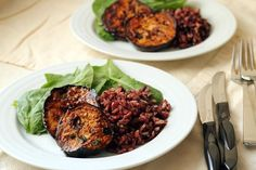 Teriyaki Eggplant Steaks | Wheat-Free Meat-Free