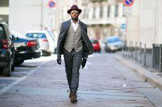 Milan Street Style - Mens Fashion Week Fall16