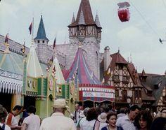 Fantasyland in Walt Disney World.