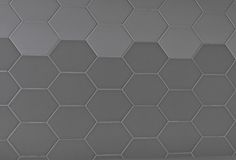 Chez Moi tiles by Portobello - Loving the tones and new geometric spin to a hexagon tile
