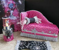★monsters@home★Daybed f Monster High Catty Noir★Möbel Sofa Couch
