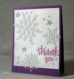 Thank You, featuring Simon Says Stamp January Card Kit | shurkus.com @simonsaysstamp #handmadethankyou