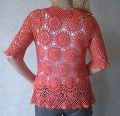 Çok Moda Yazlık Motifli Kadın Hırka Yelek Örgü Modelleri Cardigan, Crochet, Sweaters, Anne, Women, Fashion, Colorful Clothes, Stylish Clothes, Women's Vests