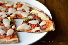 pizza di patate in padella,pizza senza lievito,pizza,pizza in padella,le ricette di tina,