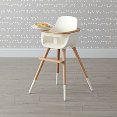 Shop Ovo Max Luxe High Chair. Featuring an elegantly designed seat lofted on beechwood legs, the Ovo Max Luxe High Chair has a modern style that will match even the most sophisticated interiors.