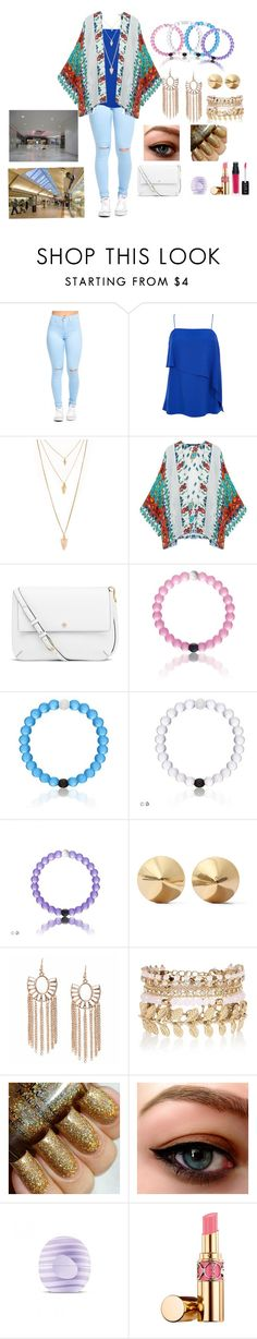 """""""Mall look"""" by my-little-big-family ❤ liked on Polyvore featuring TIBI, Forever 21, Tory Burch, Eddie Borgo, River Island, Eos and Yves Saint Laurent"""