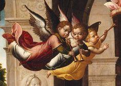 JUAN CORREA DE VIVAR - La Natività, retablo, dettaglio - 1546-1550 - Museo del Prado