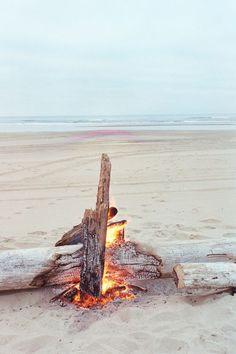 Campfire on the Beach cM