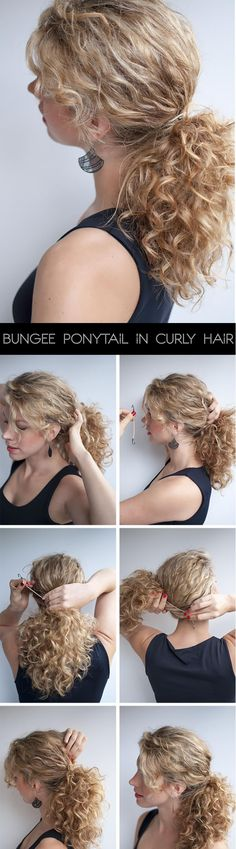The Best Hairstyles For A Medium Length Sized Curly Hair - ViewKick