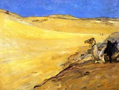 The Athenaeum - The Libyan Desert (Max Slevogt - )