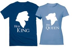 The Lion King Inspired Couples Tee Shirts  The Lion by DeeeeBees