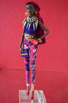 "Out of sight Nadja "" Colors"" Fashion Royalty   Flickr - Photo Sharing!"
