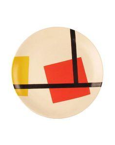 De Stijl Decorative plate DARKROOM