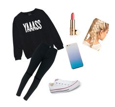 """""""Here's a Nice Casual Outfit"""" by favouro on Polyvore featuring Converse"""