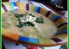 Staročeská zeleninová polévka recept - TopRecepty.cz Cheeseburger Chowder, Soup, Soups
