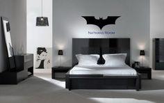 Personalized Batman Sticker for Childs Room Wall Decor/Sticker FREE SHIPPING VI00010
