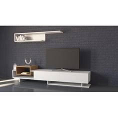 Lcd Units, Tv Shelf, Tv Furniture, Tv Unit Design, Wardrobe Design, Wall Mounted Tv, Tv Cabinets, Interior Design Kitchen, Console