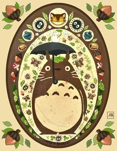 My Neighbor Totoro by Julia Blattman