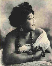 Mamie Smith (May 26, 1883, Cincinnati, Ohio – September 16, 1946, New York City) was an American vaudeville singer, dancer, pianist and actress, who appeared in several motion pictures late in her career. As a vaudeville singer she performed a number of styles including jazz and blues. She entered blues history by being the first African American to make vocal blues recordings in 1920.