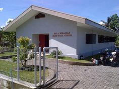 Kingdom Hall of Jehovah Witnesses in Northern Sulawesi, Indonesia