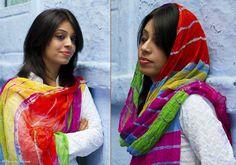 Lehariya Dupattas - Lehriya - Rainbow - PC - 3097 - 1