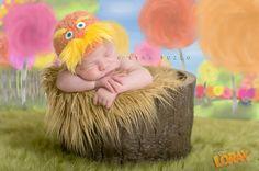 Lynn Puzzo Photography: AJ (the Lorax!) | Connecticut Newborn Baby Photographer