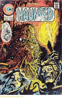 tom sutton charlton | cover art by tom sutton usa charlton comics all new haunted issue 20 ...