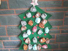 Advent Calendar, Holiday Decor, Etsy, Home Decor, Personalised Money Box, Sachets, Handmade, Xmas, Homemade Home Decor