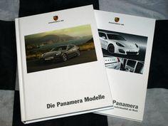 2011 PORSCHE PANAMERA 4 S TURBO HYBRID BROCHURE PROSPEKT + TEQUIPMENT GERMAN HB