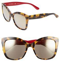 Dolce & Gabbana Dolce&Gabbana 54mm Retro Sunglasses on shopstyle.com