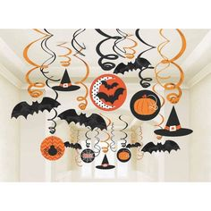 Pumpkins, bats, witc...