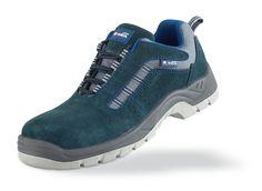 @marcaproteccion Zapato mod. HISPALIS. Zapato piel serraje azul S1P Metal Free con suela de Poliuretano doble densidad. Aplicaciones: Uso General (Calzado de Seguridad) y en trabajos donde se requiera calzado sin partes metálicas no conductoras (Metal Free), con un alto coeficiente anti-deslizamiento (SRC) o se necesite un calzado más ligero (con protecciones no metálicas) y más flexible (con plantilla anti-perforación no metálica).  Características y ventajas: Piel serraje combinada con un…