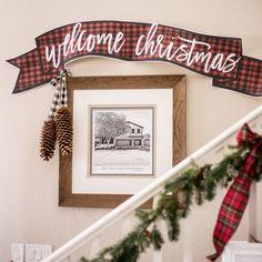 Welcome Christmas Banner Original