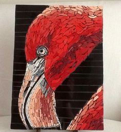 Cecile Aime Mosaic Birds, Cecile, Mosaics, Spiderman, Painting, Fictional Characters, Art, Spider Man, Art Background
