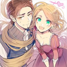 Disney & Zeichentrick In Anime - Disney Princess - Anime Picolle - Disney Anime Disney Princess, Disney Rapunzel, Disney Pixar, Disney E Dreamworks, Disney Animation, Disney Magic, Disney Movies, Disney Anime Style, Tangled Rapunzel