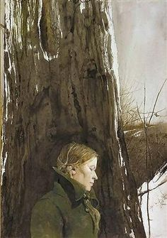 """""""Beaufort County Now"""", by Andrew Wyeth (painting is part of The Helga Series)"""