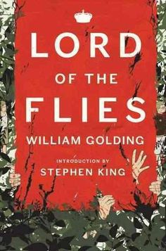 """The classic novel by William Golding With a new Introduction by Stephen King """"To me Lord of the Flies has always represented what novels are for, what makes them indispensable."""" - Stephen King Golding"""