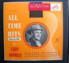 Vintage Record LPM  33 1/2 Eddie Arnold Record  by 2VintageGypsies