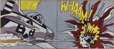 Whaam!  Roy Lichtenstein.