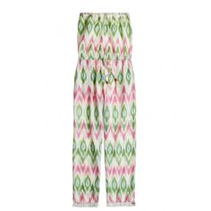 Enjoy 20% off when you donate to Calypso Cares. Garudi Strapless Ikat Cotton Jumpsuit